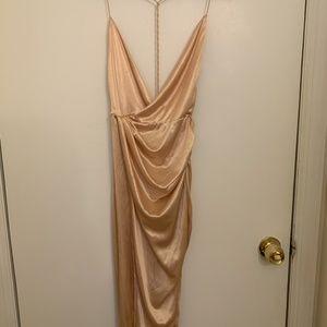 Oh Polly, silk dress